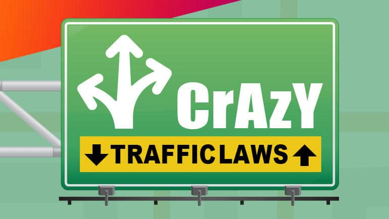 Infographic: Craziest Traffic Laws in the US